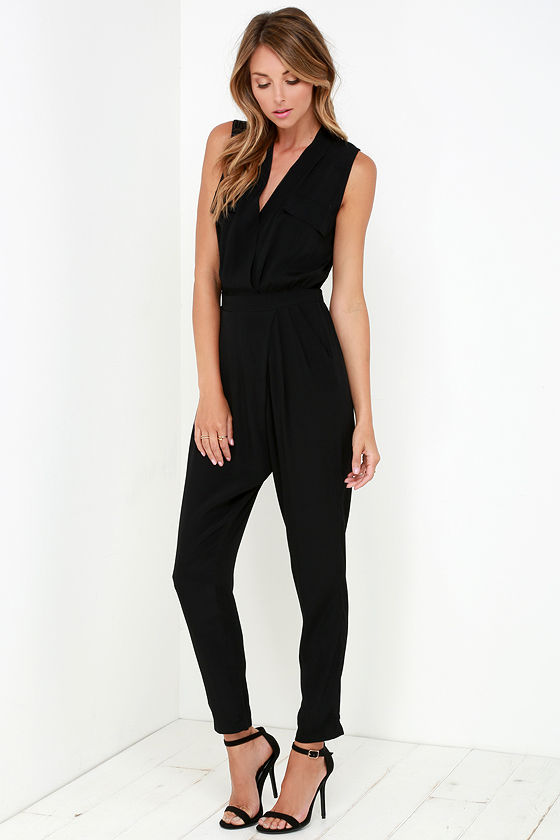 Find black sleeveless jumpsuit at ShopStyle. Shop the latest collection of black sleeveless jumpsuit from the most popular stores - all in one place.