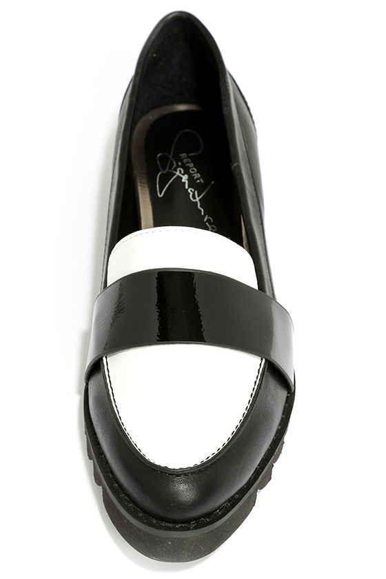 Cute Black Loafers - Penny Loafers - Black Flats - Pointed ...