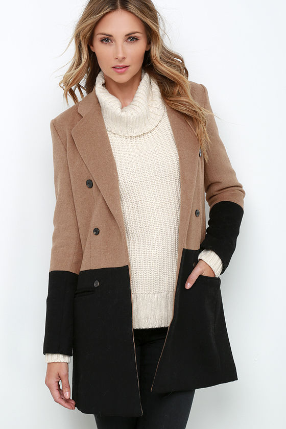 Find the latest and trendy styles of color block coat at ZAFUL. We are pleased you with the latest trends in high fashion color block coat.