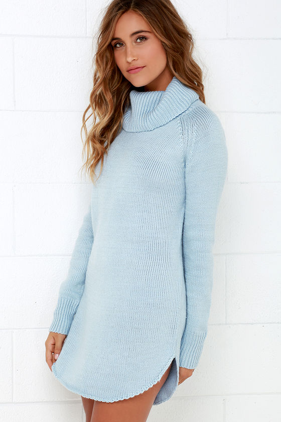 A stylish and colorful sweater is perfect for the weekends or office. The fashion items make it easy to create a stunning, unique look. You can't go wrong with light blue sweaters that come with a perfect dose of whimsy; a must-have for any closet.