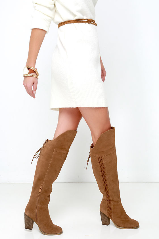 boots the knee boots high heel boots