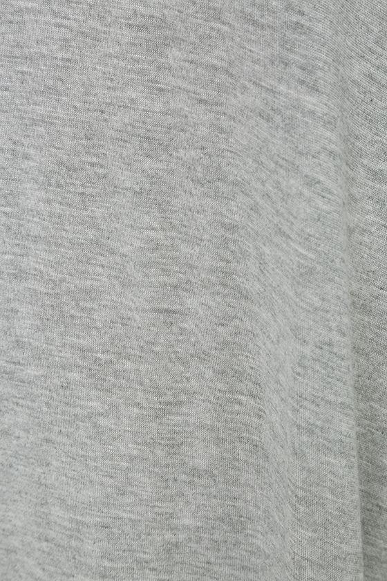 Status Elite Grey Birch Modern Italian Bedroom Set: Chic Heather Grey Top