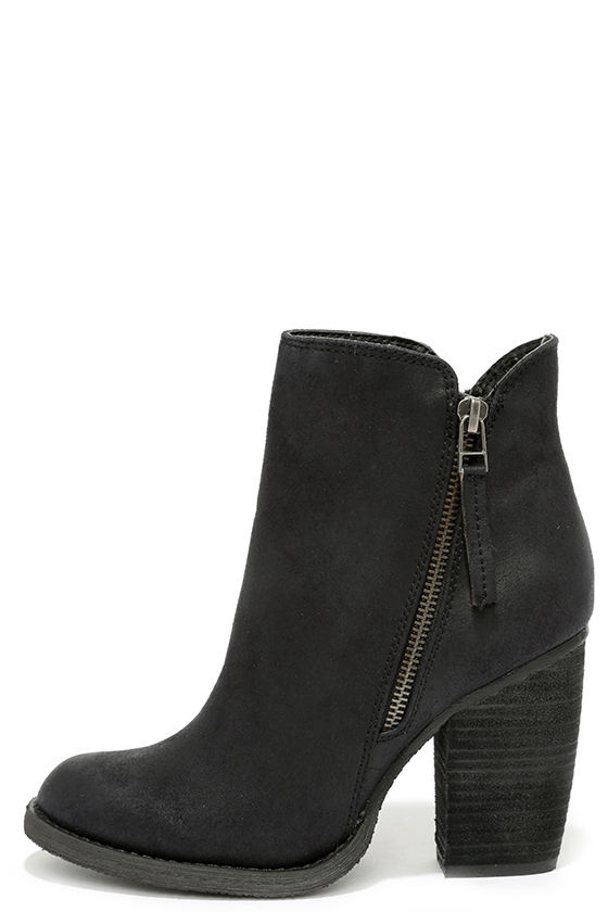82f0e97ca37 Cute Black Booties - High Heel Booties - Ankle Boots -  69.00