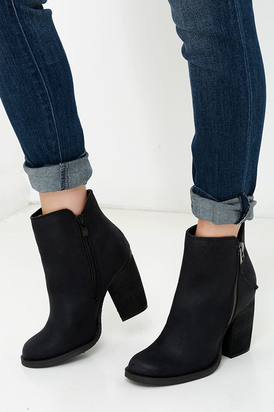 High Heel Booties - Ankle Boots