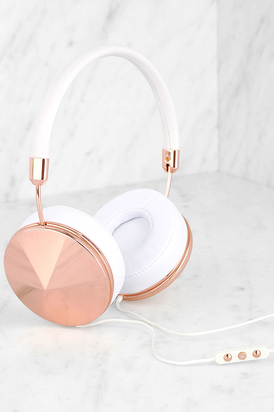 d69791ab9f9 Frends with Benefits Rose Gold Headphones -Taylor Headphones