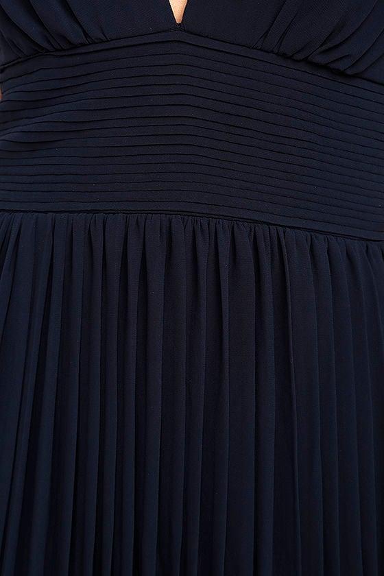 Depths of My Love Navy Blue Maxi Dress 6