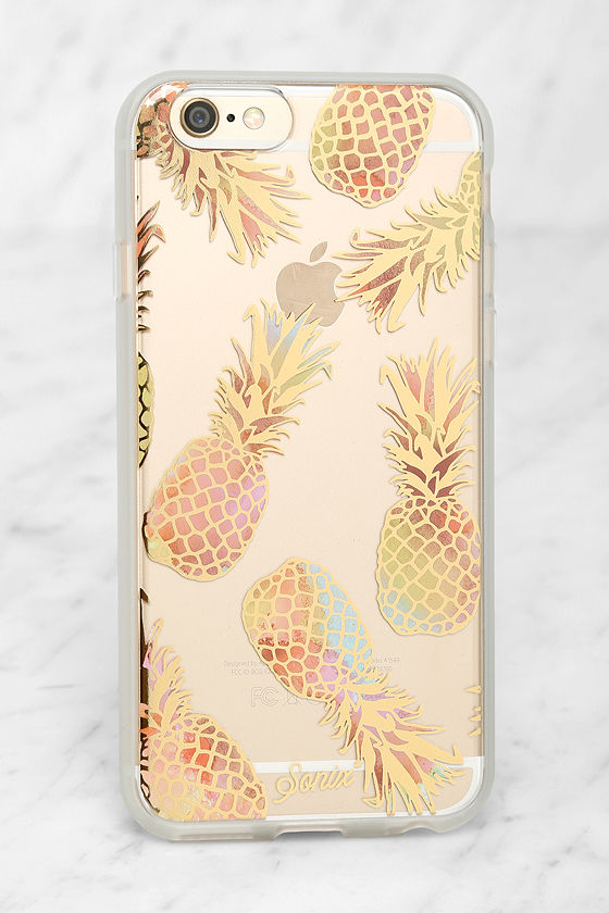 new arrival 8a9af 5bb5b Sonix Liana Peach Pineapple iPhone 6 and 6s Case