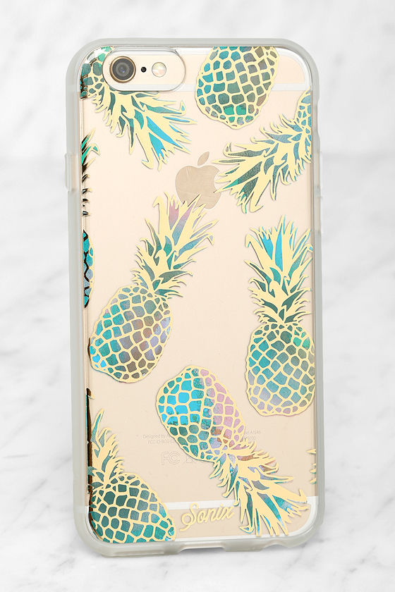 best service 6a68c 8b098 Sonix Liana Teal Pineapple iPhone 6 and 6s Case