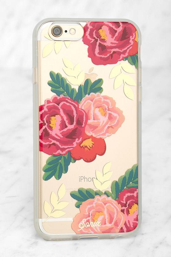 on sale 2e4f8 00056 Sonix Lolita Clear Rose iPhone 6 Case