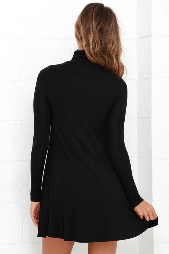 Sway, Girl, Sway! Black Swing Dress 4