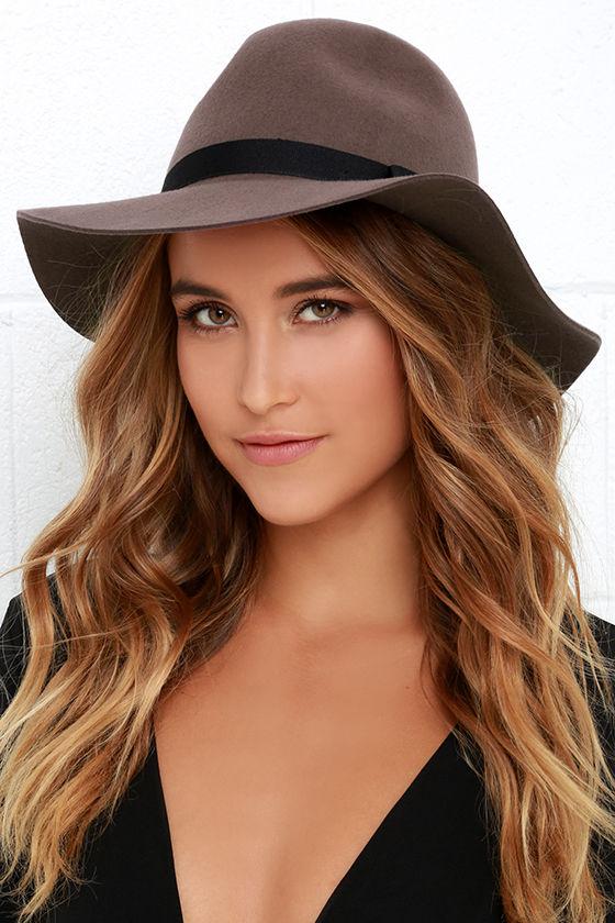 Brixton Dalila - Taupe Hat - Wool Hat -  54.00 095fbeef11b