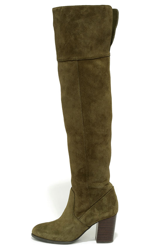 a5e748bd3f4 Cute Olive Boots - Over the Knee Boots - High Heel Boots -  203.00