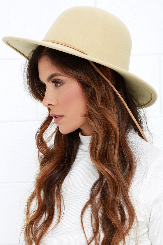 d2ee4d29 Brixton Tiller - Cream Hat - Wool Hat - $65.00
