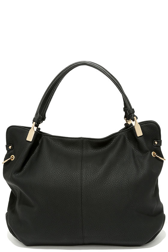 Ocean Cruise Black Handbag 1