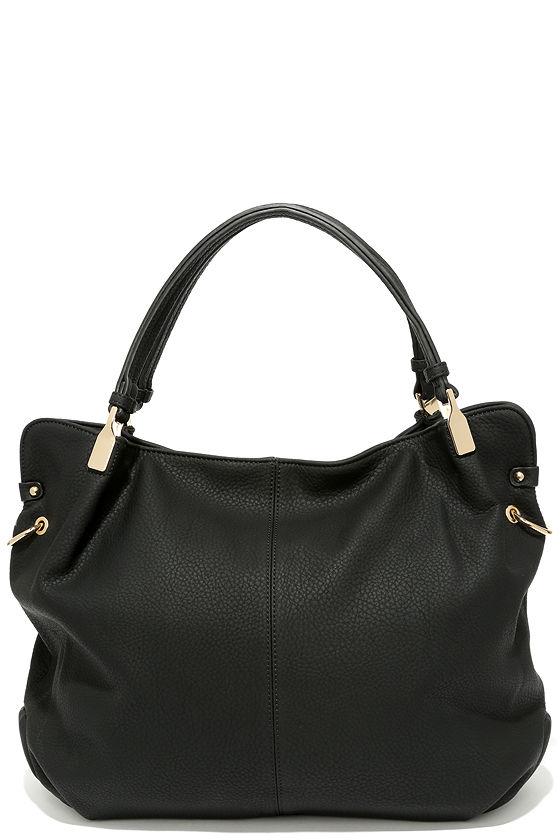 Ocean Cruise Black Handbag 1