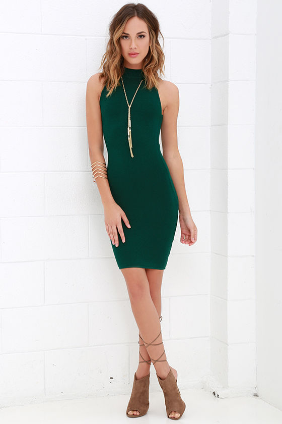 Green Short Dresses