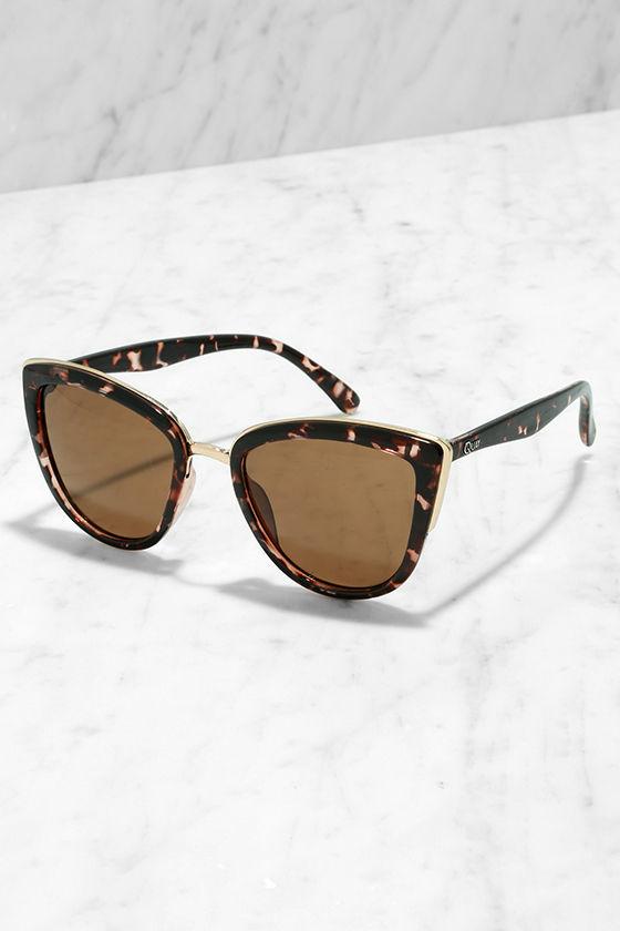 3a78765089 Quay My Girl - Tortoise Sunglasses - Cat-Eye Sunglasses -  50.00