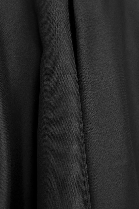 Dress Rehearsal Black Skater Dress 6