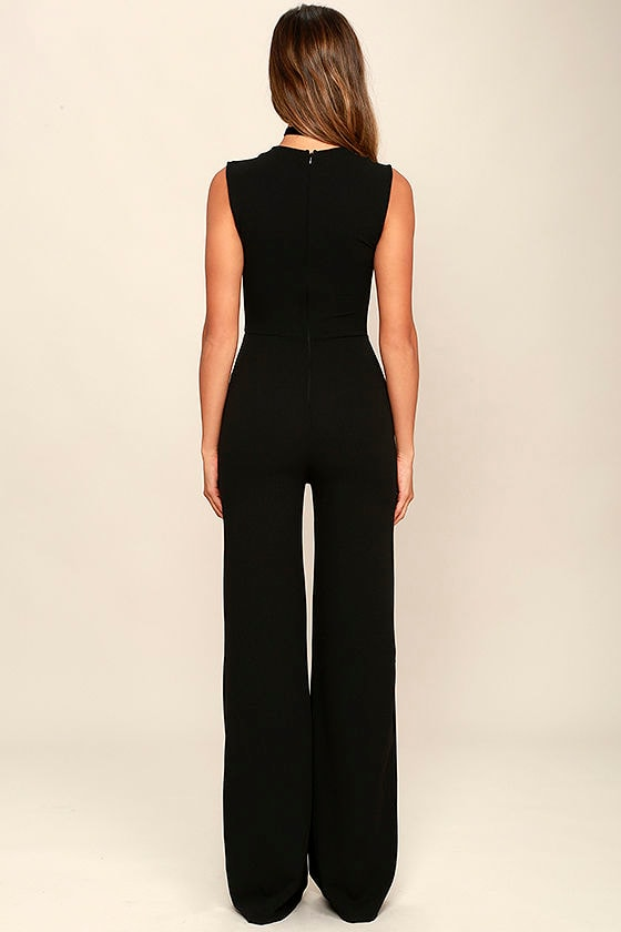 Enticing Endeavors Black Jumpsuit 4