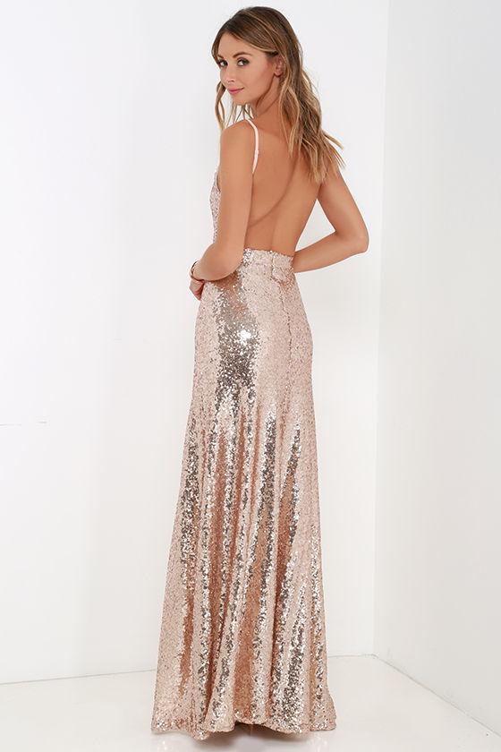 Sequin Maxi Dresses