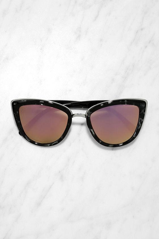 d7d836b579d Quay My Girl - Tortoise and Pink Sunglasses - Cat-Eye Sunglasses ...