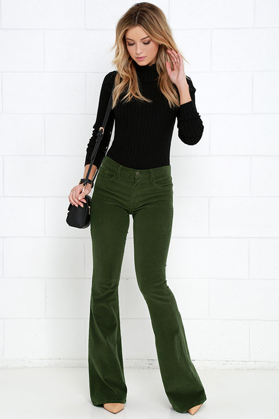 Creative Corduroy Pants Style For Women 16 Outfits For Every Women