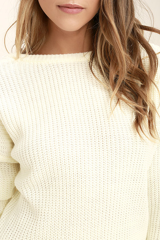 Island Ferry Cream Sweater 5