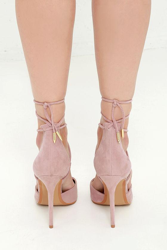 Light Nude Closed Toe Shoes