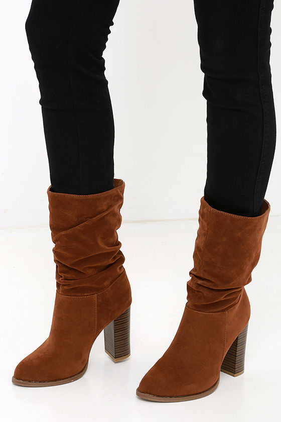 boots high heel boots mid calf boots 47 00
