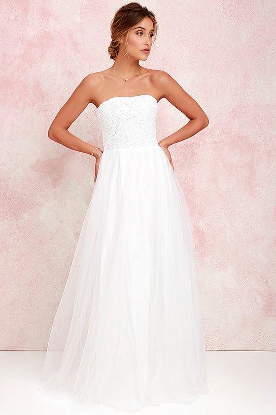 Ivory Maxi Dresses