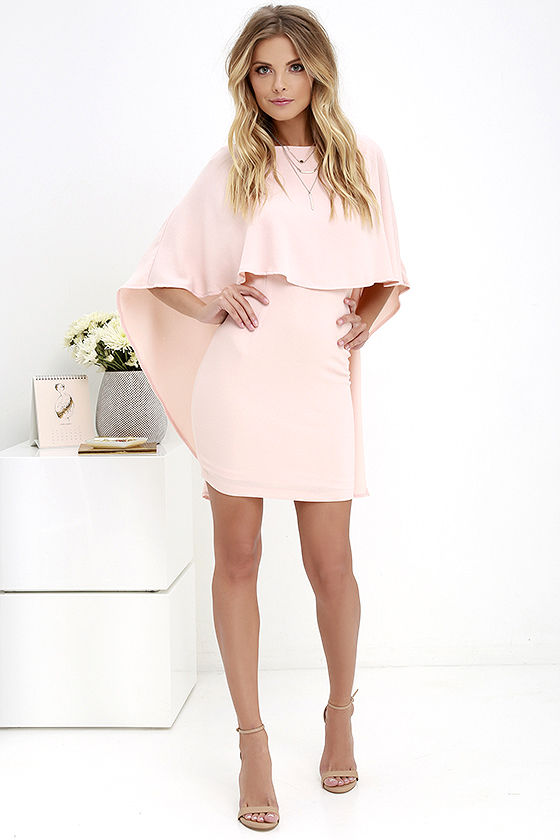 Best is Yet to Come Peach Backless Dress 3