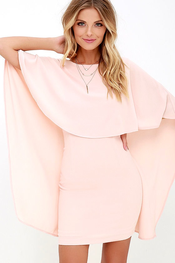 Best is Yet to Come Peach Backless Dress 4