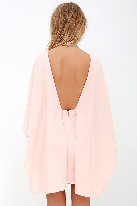 Best is Yet to Come Peach Backless Dress 5