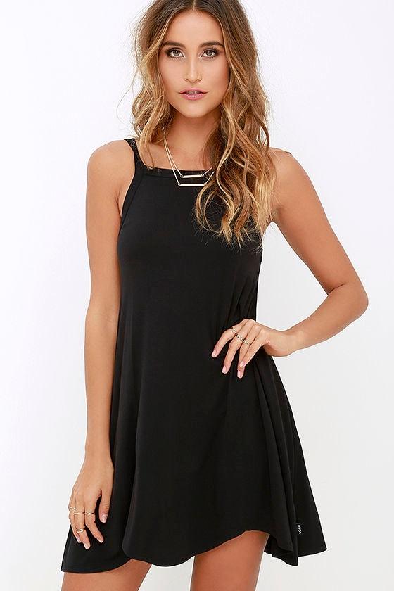 RVCA Thievery Black Dress 1
