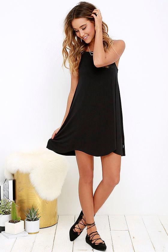 RVCA Thievery Black Dress 2
