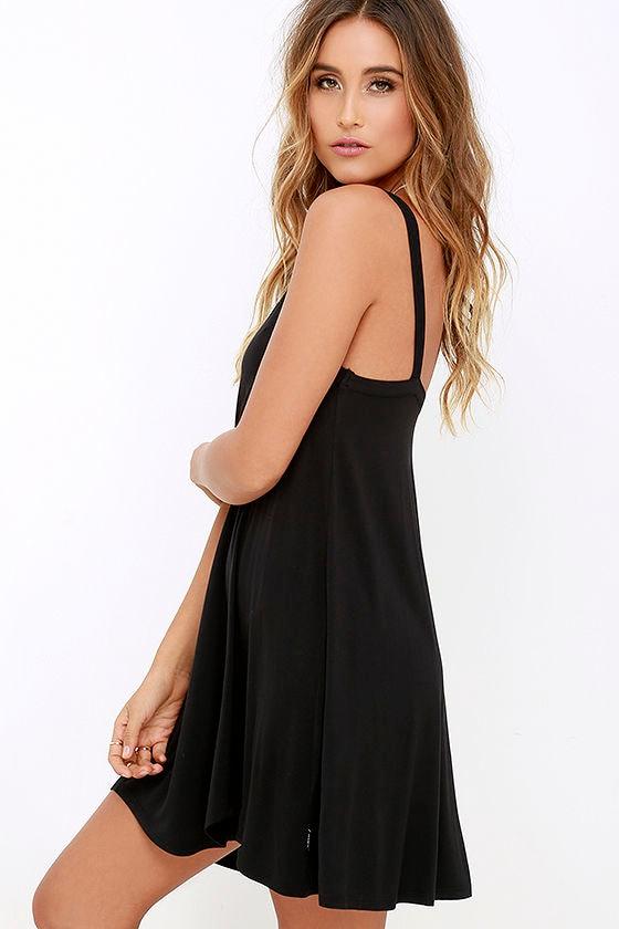 RVCA Thievery Black Dress 3