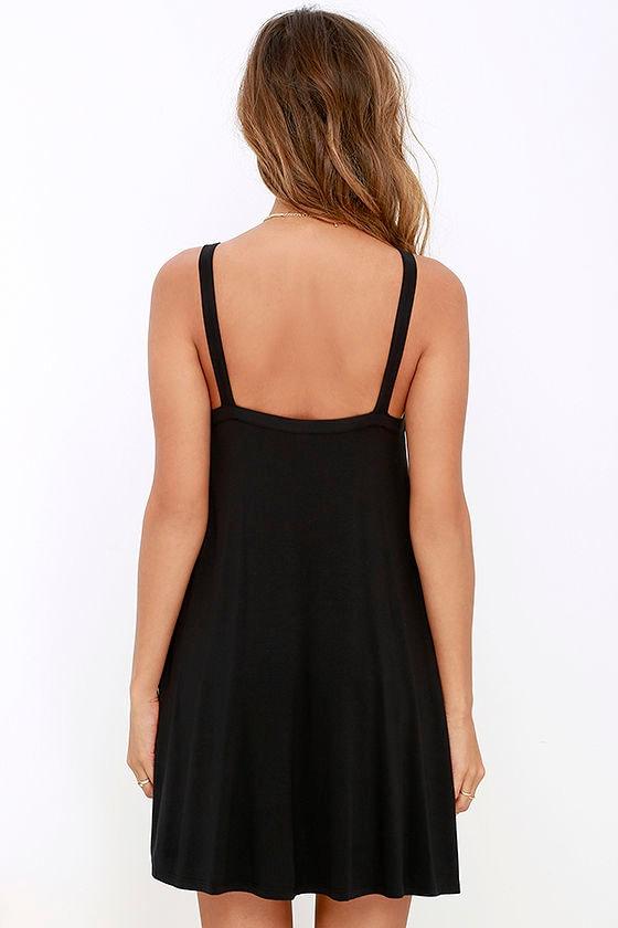 RVCA Thievery Black Dress 4