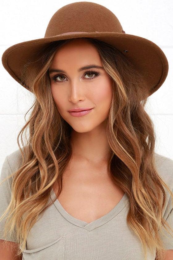 Rhythm Suffolk - Brown Hat - Wool Hat -  38.00 4061df19fae