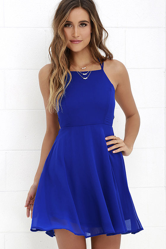 Royal Blue Dresses 2