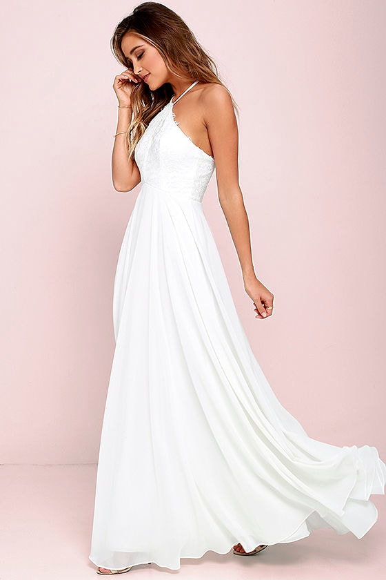 White and Ivory Dresses