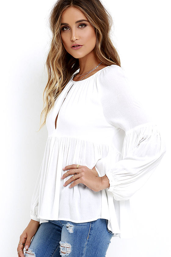 Limitless Love Ivory Long Sleeve Top 3