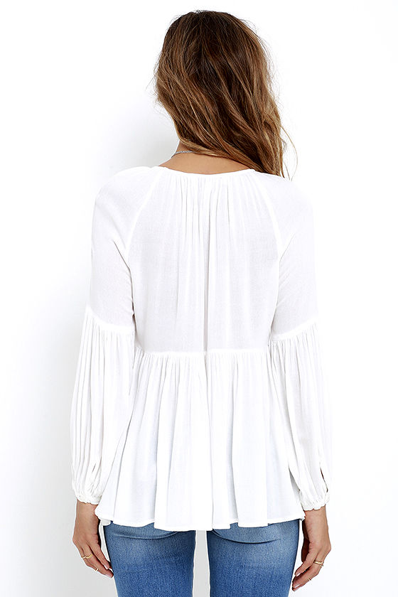 Limitless Love Ivory Long Sleeve Top 4