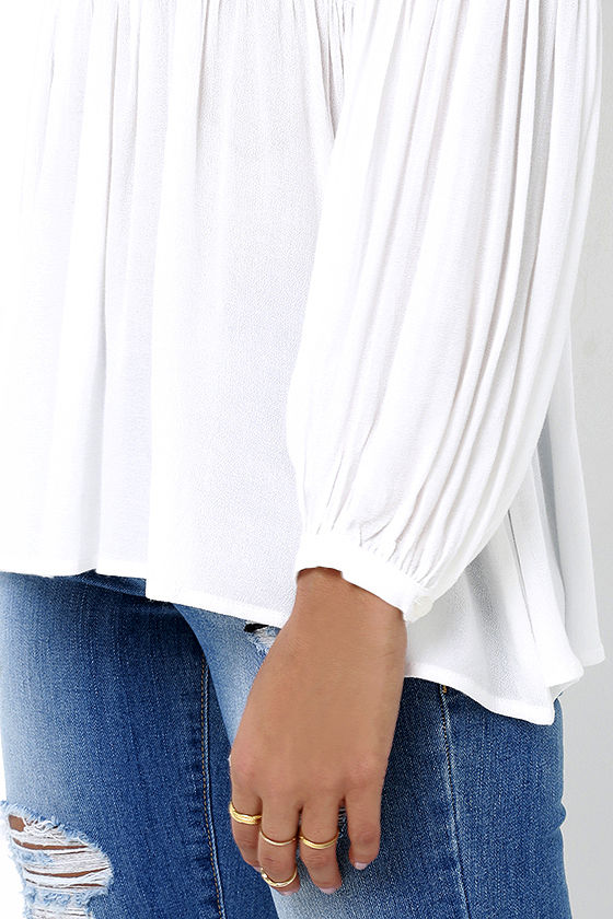 Limitless Love Ivory Long Sleeve Top 5