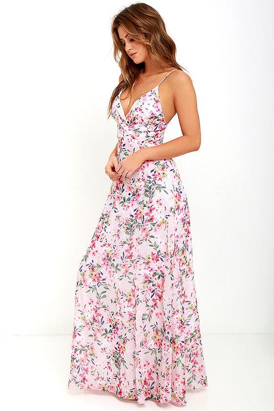 Floral Pink Dresses