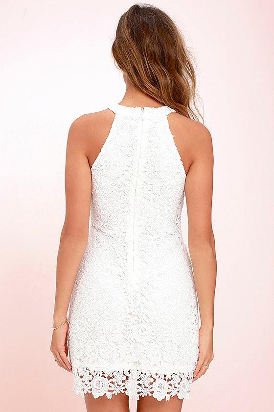 Love Poem Ivory Lace Dress 4