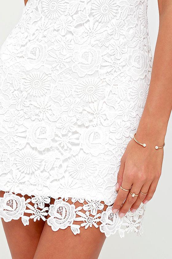 Love Poem Ivory Lace Dress 5