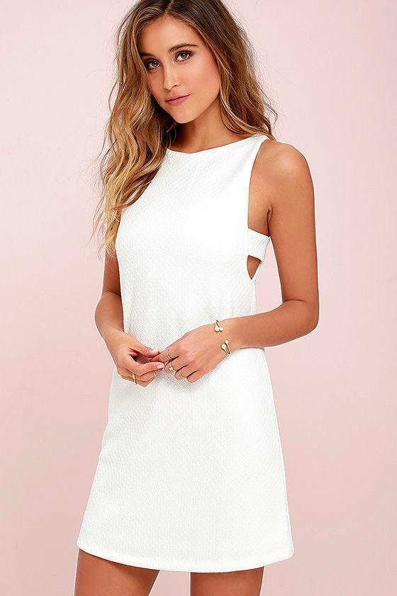 f5c6499c740 Ivory Dress - Sleeveless Dress - White Dress -  72.00