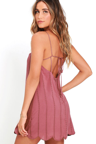 Cute Mauve Dress - Embroidered Dress - Sheath Dress - Apron Dress ... 89a95175d
