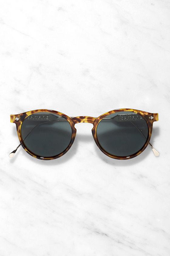 ae45474b11 Spitfire Flex Sunglasses - Tortoise Sunglasses - Gold Sunglasses ...