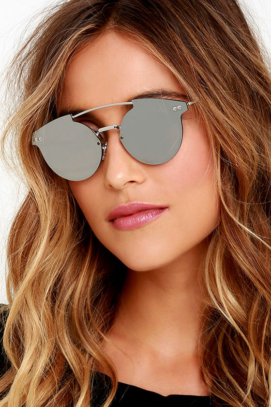 Orange Mirrored Sunglasses  spitfire trip hop sunglasses silver sunglasses mirrored